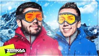 JOSH AND SIMON GO SKIING! (SNOW)