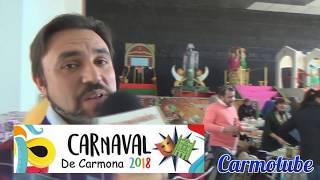 Entrevistas previas Carnaval de Carmona 2018 con Raúl Garrido