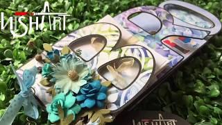Rakshabandhan Gift For Brother | Photo Scrapbook In Name Theme | BRO Name Theme Scrapbook |Nisha Art