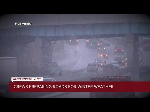 Metro Detroit road crews preparing for first blast of winter weather