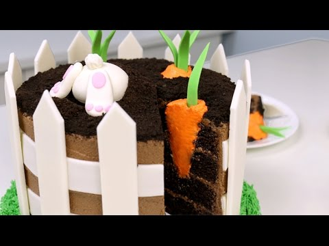 Video Amazing EASTER Bunny CAKE with a Surprise INSIDE