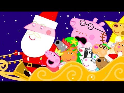 Download Peppa Pig Official Channel 🎅 Peppa Pig's Ride with Father Christmas Mp4 HD Video and MP3