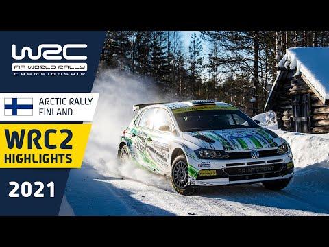 WRC2 2021 第2戦のラリーフィンランド 日曜日のハイライト動画