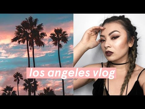 Top Los Angeles Food Guide⚡️ Cinematic 72 hours in Los Angeles Travel Vlog!