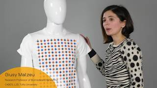 Newswise:Video Embedded new-smart-fabrics-from-bioactive-inks-monitor-body-and-environment-by-changing-color