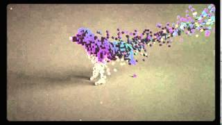 Voxel Cube Dog