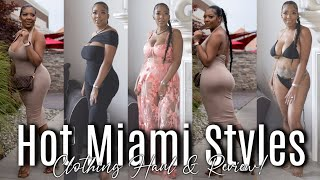 Hot Miami Styles try on haul and review - Vacation Ready - Kristyn Alexis