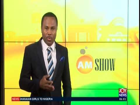 AM Show Intro on JoyNews (26-8-19)
