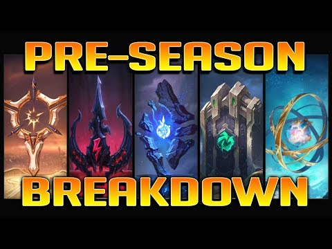 PRESEASON 2018 BREAKDOWN All New Runes & New IP/Leveling Systems Explained  - League of Legends - Anklespankin