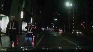 2013/12/06全国一斉検問札幌市白石区菊水3条1丁目