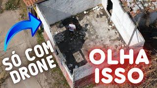 DRONE flagra HOMEm numa ATITUDE SUSPEITA wanzam fpv