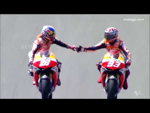 Best Moment Marquez & Rossi - Something Just Like This