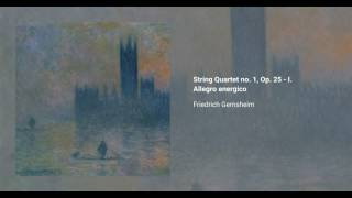 String Quartet no. 1, Op. 25