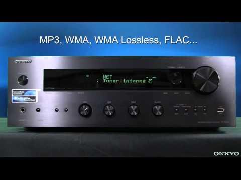 ONKYO TX-8050 Netzwerk-Stereoreceiver (DLNA, last.fm, Napster, optional: WLAN/DAB)