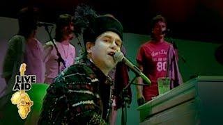"Video thumbnail of ""Elton John - Rocket Man (Live Aid 1985)"""