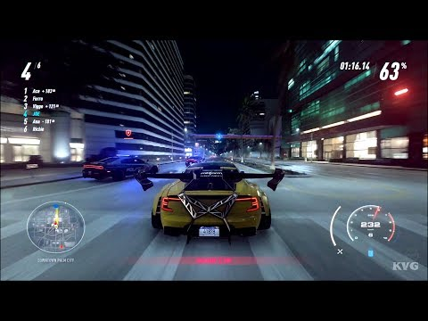 Need for Speed Heat Gameplay (PS4 HD) [1080p60FPS]