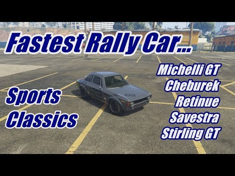 Michelli GT Offroad Test! Fastest Rally Cars In Sports Classics! (GTA Online)