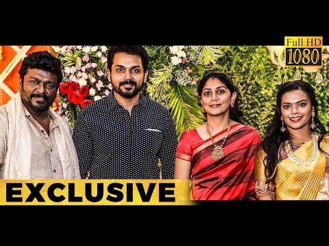 Karthi wife Ranjini Chinnaswamy and Family - смотреть онлайн