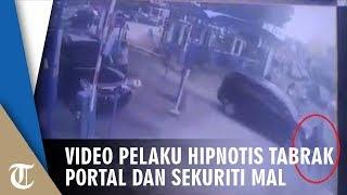 Video Detik-detik Mobil Pelaku Hipnotis Kabur Tabrak Portal dan Sekuriti Mal, Begini Modusnya