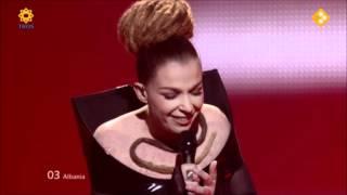 ESC 2012 Albania : Rona Nishliu - Suus