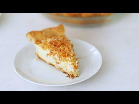 Coconut Custard Pie- Sweet Talk with Lindsay Strand