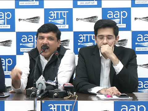 Aap Leader Sanjay SIngh Brief's Media on the Incident happened In Rajasthan
