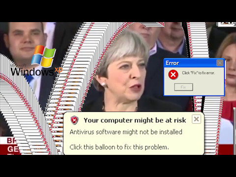 Another Satirical Video: 'Strong and Stable' Theresa May as Bug