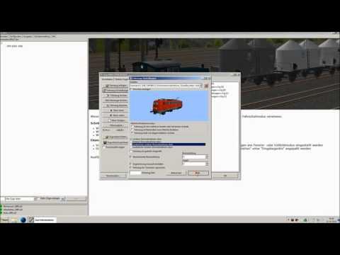 Bauen für Zusi (23): Fahrplaneditor - Fahrzeuge / Fahrplan