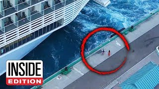 Couple Tries to Stop Cruise Ship From Leaving Port