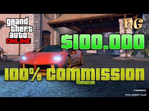 GTA V Online: How To Sell Cars 100% Commission On Import Export Cars
