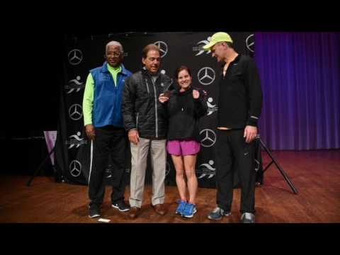 Nick Saban makes appearance at 2017 Mercedes Marathon