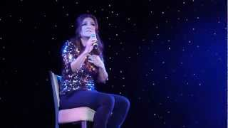 """Shoshana Bean sings """"Still Hurting"""" from The Last Five Years on The Broadway Cruise"""