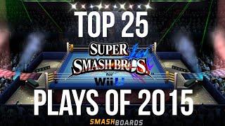 Smash 4 Top 25 Plays of 2015 - Smash Bros Wii U - dooclip.me