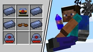 HOW TO MAKE A JETPACK   Minecraft The Simple Life #5 | JeromeASF