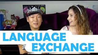 How to find REAL language exchange partners - 언어교환