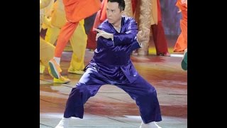 2016 Newest HD Donnie Yen LIVE Peformance Chinese New Year Gala 甄子丹 春晚 Most Watched Chinese Event