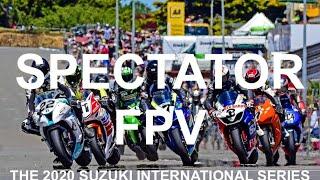 FPV Spectator View Motorcycle Street Race