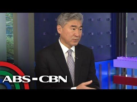 [ABS-CBN]  Headstart: US envoy to make sure 'no hiccup' in Balangiga bells return
