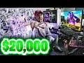 MY $20,000 WARZONE ULTIMATE GAMING SETUP! 🔥