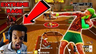 i troll FlightReacts while he was live streaming ..🤣😂😂 he bust a vein in his forehead NBA 2k19