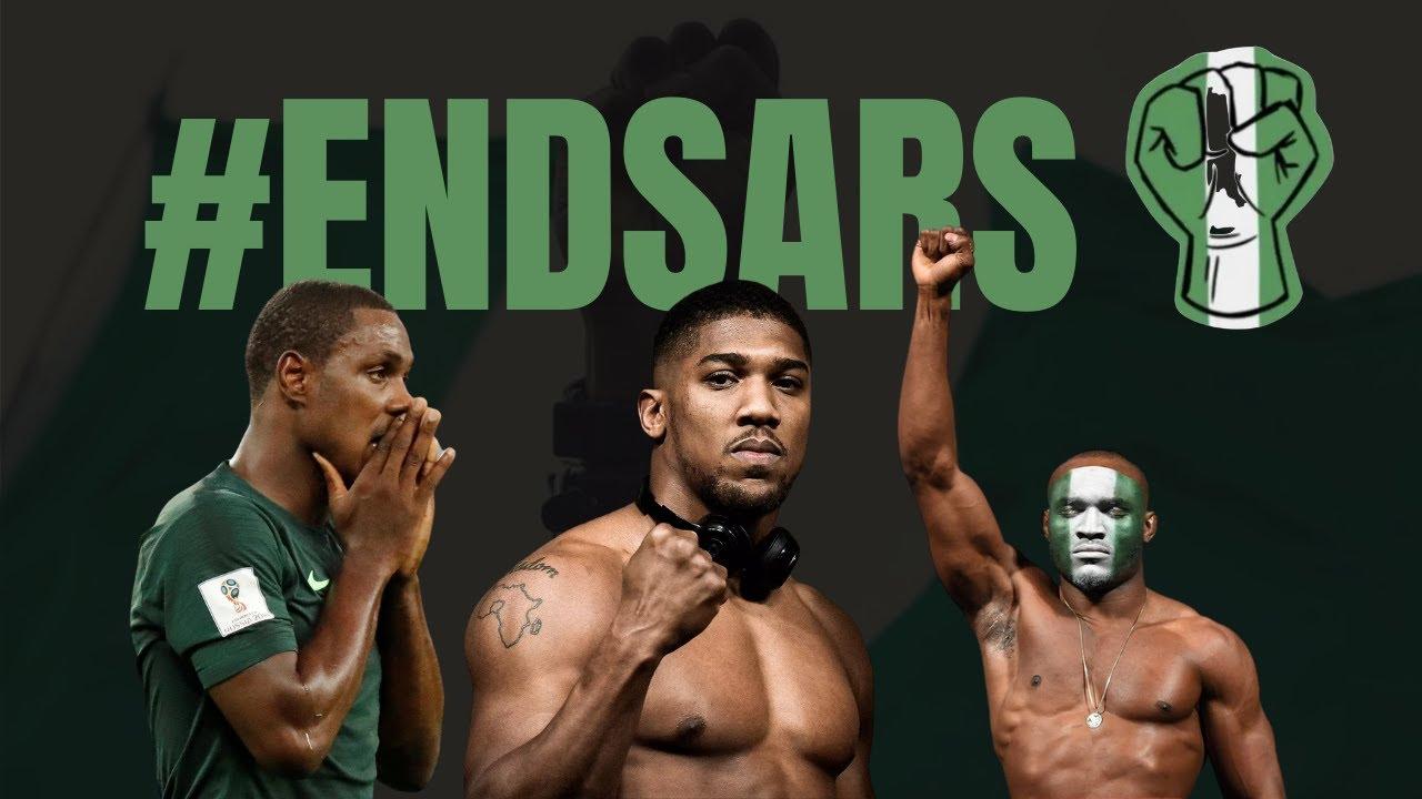 Nigerian Athletes Speak Out #ENDSARS | Ighalo, Joshua, Usman