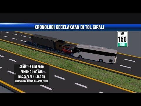 Kronologi Kecelakaan Maut di Tol Cipali - NET YOGYA