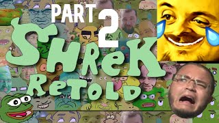 Forsen Reacts to Shrek Retold - Part 2 (With Chat)