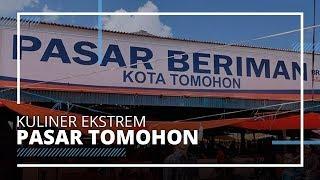 7 Kuliner Ekstrem di Pasar Tomohon Manado, Otak Monyet hingga Kelelawar