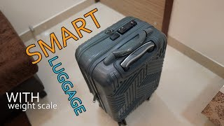 """Carriall Trail 20"""" Smart Luggage, with Weight scale, Bluetooth Connectivity, USB charging"""