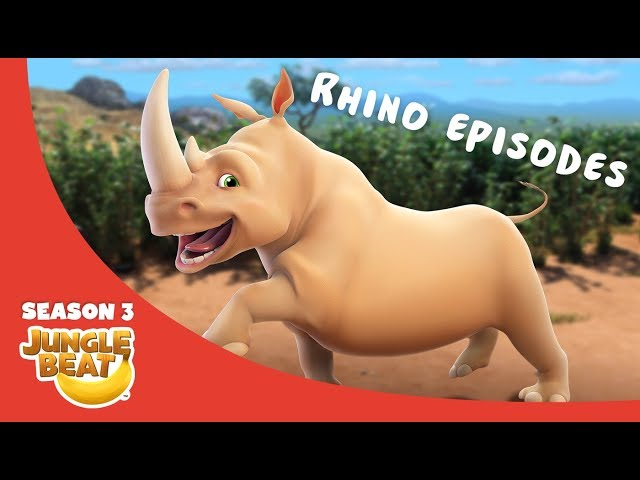 Rowdy Rhino  – JB S3 Animal Compilation #10