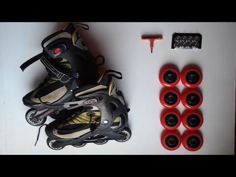 como cambiar rodamientos y ruedas de patines