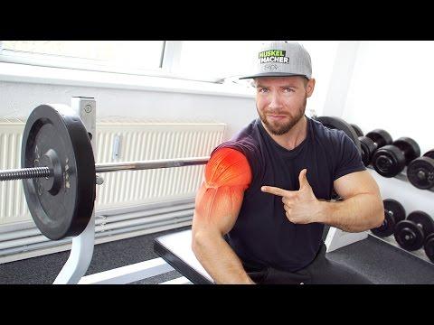 Wie man die Schmerzen bei Entzündungen des Schultergelenks entlasten