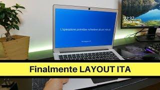 """Ezbook 3 pro - """" Finalmente Lingua + Layout ITALIANO!"""""""