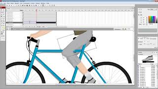 Flash animation tutorial : Cycling
